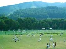 ラグビー・サッカー合宿