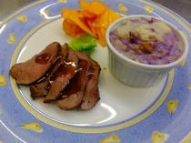 ジビエ料理も食べれます! 長野県ジビエマイスター認定。
