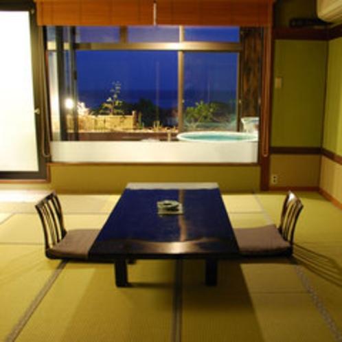 *海を望む展望風呂付客室【漁り火】