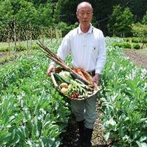 野菜と農夫