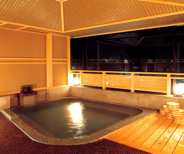 貸切展望風呂(ゆるり)