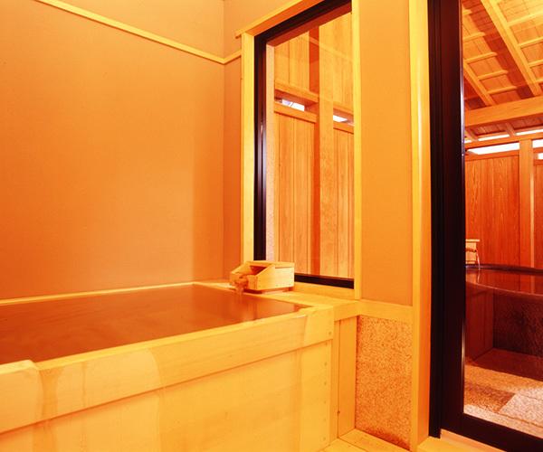 特別室「清澄」 檜風呂