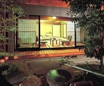 特別室「清澄」 庭園