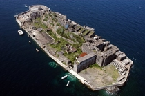 世界遺産・軍艦島