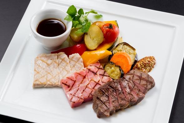 サマーガーデンレストラン・ディナー・飲み放題付 宿泊プラン 朝食付