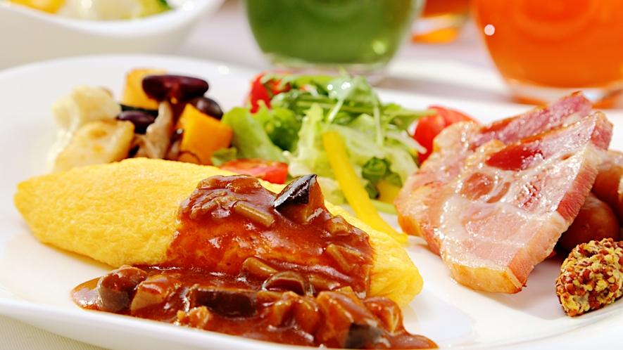 朝食おすすめのシェフズオムレツ