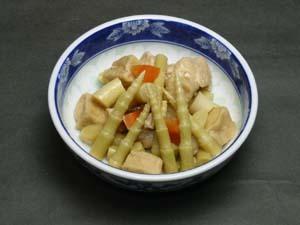 根曲がり竹の子の煮物
