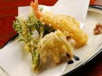季節の山菜・野菜天ぷら