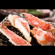 ◆グレードアップお料理一例(焼き蟹)