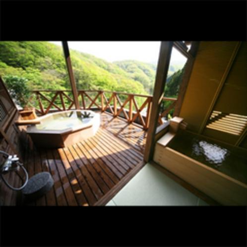 ◆弐番館最上階 貸切展望露天風呂