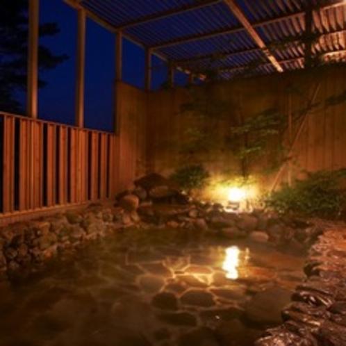 ▼元亀の湯-露天風呂-(1)