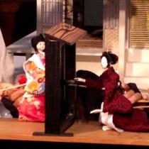▲稗田野神社 佐伯燈籠祭-人形浄瑠璃-(2)
