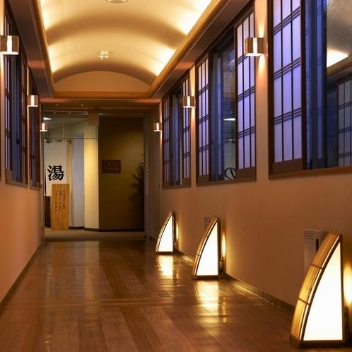 ▼元亀の湯-入口前廊下-