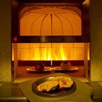 ◆石窯ダイニング-はなり-石窯(1)