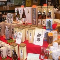 ▲大石酒造-地酒が並ぶ-(1)