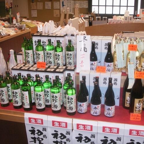 ▲大石酒造-地酒が並ぶ-(2)