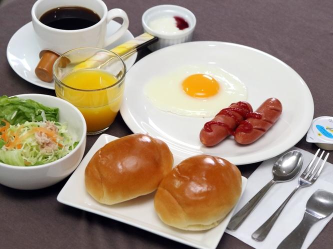 (軽朝食)手軽に取れて今日も一日元気に♪