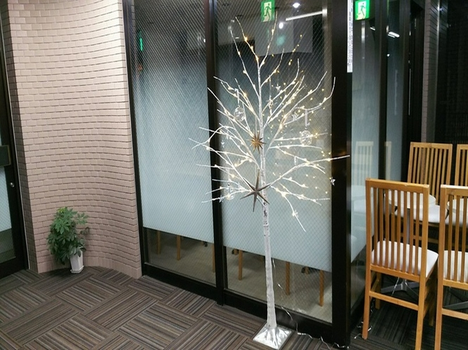 (館内)クリスマスツリー