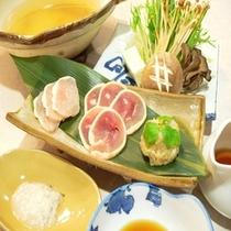 川俣シャモのしゃぶ鍋