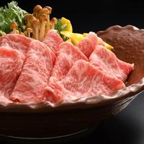 福島牛のすき焼き