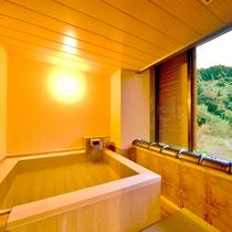 あかしや館 客室露天風呂