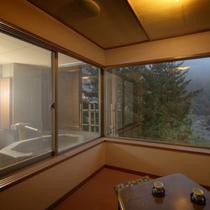 桜館2・3階 露天風呂・掘りごたつ付和室