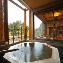 桜館 2・3階 客室露天風呂