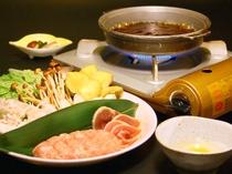 軟骨入り鶏つくねのすき焼き鍋(選べる3種の鶏プラン)