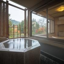 桜館2・3階 客室露天風呂