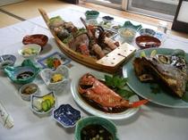 【夕食例】伊豆の幸がたくさん!