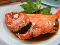 金目鯛の煮付け!オリジナルのタレで!