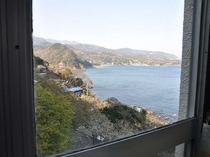 お部屋からの眺めは素晴らしいですよ!