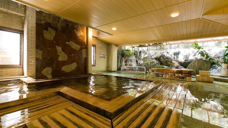 【本館・旅籠きこり】大浴場 信玄の湯 勘助の湯 殿湯