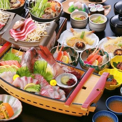 【AAAグレード 舟盛会席料理プラン】『瀬戸内のちらし寿司』にグレードアップ