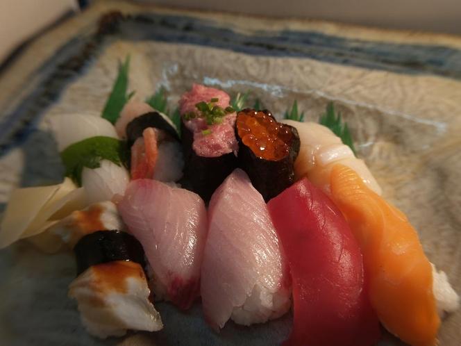 夕食例:お寿司