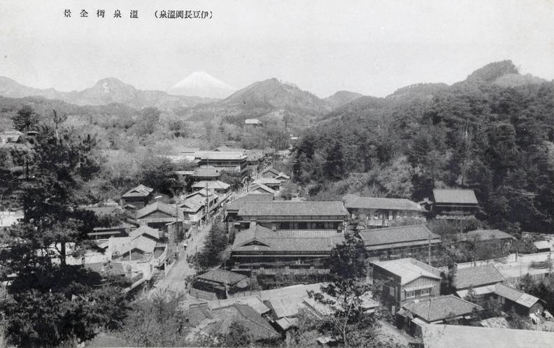 古奈温泉場全景