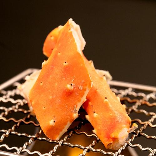 焼きタラバガニ(別注料理)