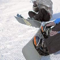 *「準備OK!よし、滑るぞー!」