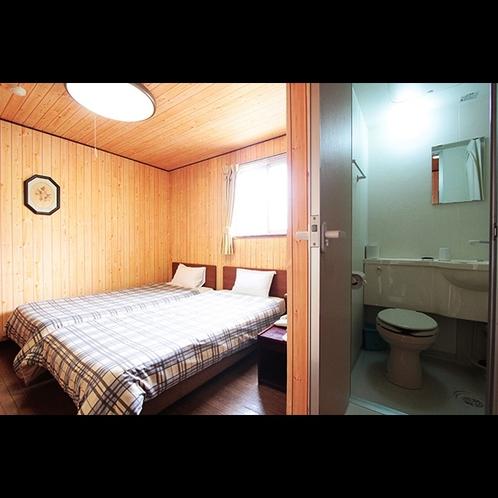 【ツイン】シャワー・トイレ付き