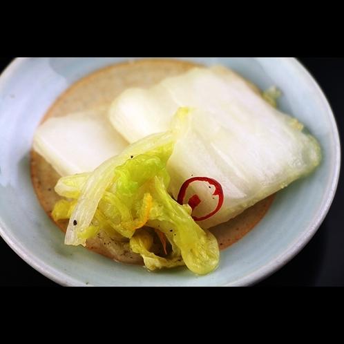 【夕食】漬物