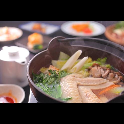 【夕食】鶏なべのイメージ画像