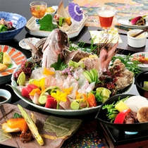 鯛料理コース(一例)