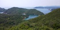 見江島展望台~ハートの入り江~