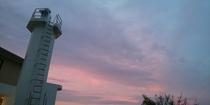 石鏡灯台~夕焼け~