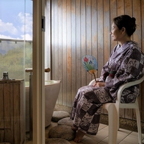 露天風呂付客室■洋室シングル+掘炬燵■ 【Wi-Fi完備】