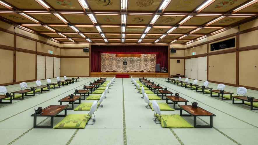 宴会場(大広間)/宴会場は大広間、中広間と多数ございます。