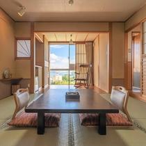 露天風呂付客室■和室8畳(掘炬燵無)■海側【Wi-Fi完備】