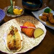 旬のお料理(夕食一例)