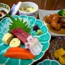 新鮮なお刺身(夕食一例)
