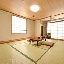 *和室10畳(客室一例)/畳の香りがほのかに薫るお部屋でのんびりとお寛ぎください。